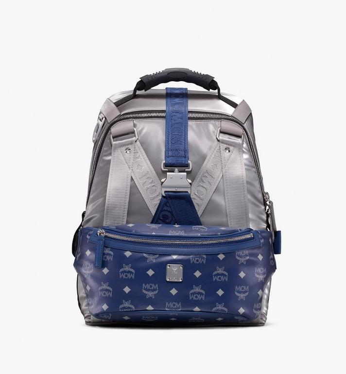 MCM Jemison 2-in-1-Nylonrucksack mit Logo Alternate View