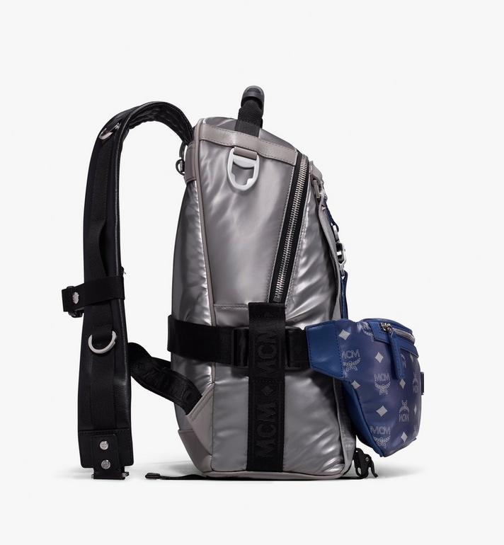 MCM Jemison 2-in-1 Backpack in Logo Nylon  MUK9AJV32TV001 Alternate View 2