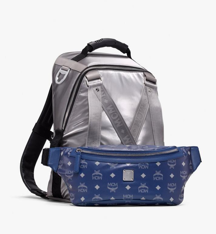 MCM Jemison 2-in-1 Backpack in Logo Nylon  MUK9AJV32TV001 Alternate View 4