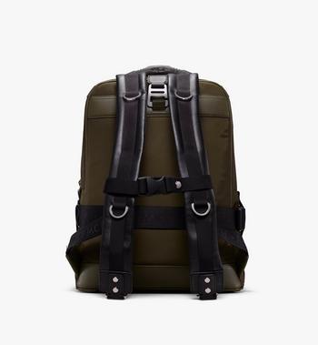 MCM Jemison 2-in-1 Backpack in Logo Nylon Alternate View 3