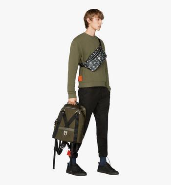MCM Jemison 2-in-1 Backpack in Logo Nylon Alternate View 7