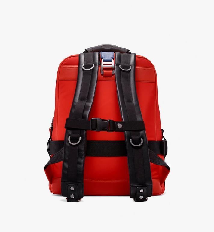 MCM Jemison 2-in-1 Backpack in Logo Nylon  MUK9AJV33O1001 Alternate View 3