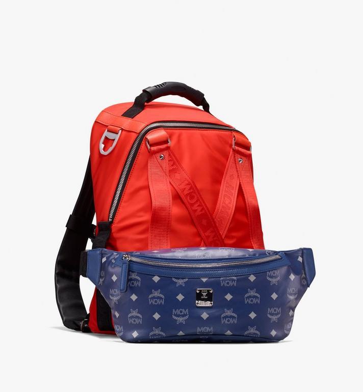 MCM Jemison 2-in-1 Backpack in Logo Nylon  MUK9AJV33O1001 Alternate View 4