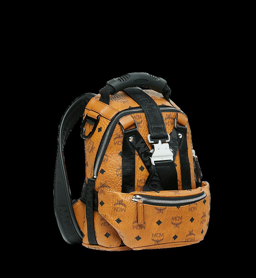 MCM Jemison 2-in-1 Backpack in Visetos Cognac MUK9SJV19CO001 Alternate View 1