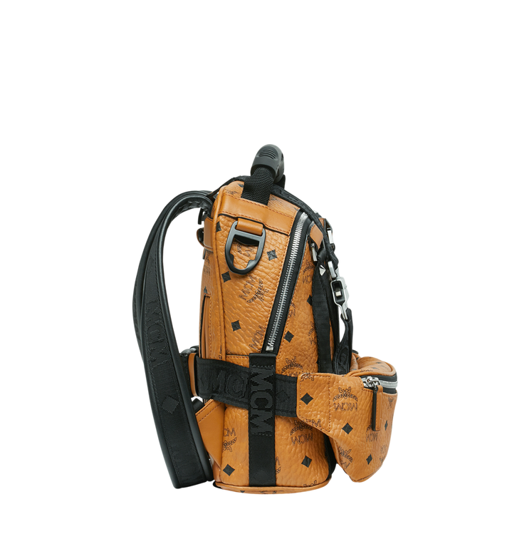 MCM Jemison 2-in-1 Rucksack in Visetos Alternate View 3