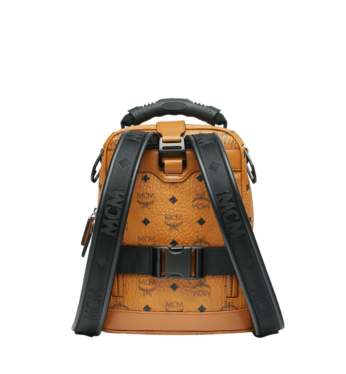 MCM Jemison 2-in-1 Rucksack in Visetos Alternate View 4