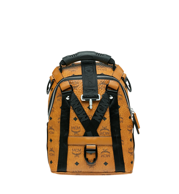 MCM Jemison 2-in-1 Rucksack in Visetos Alternate View 5