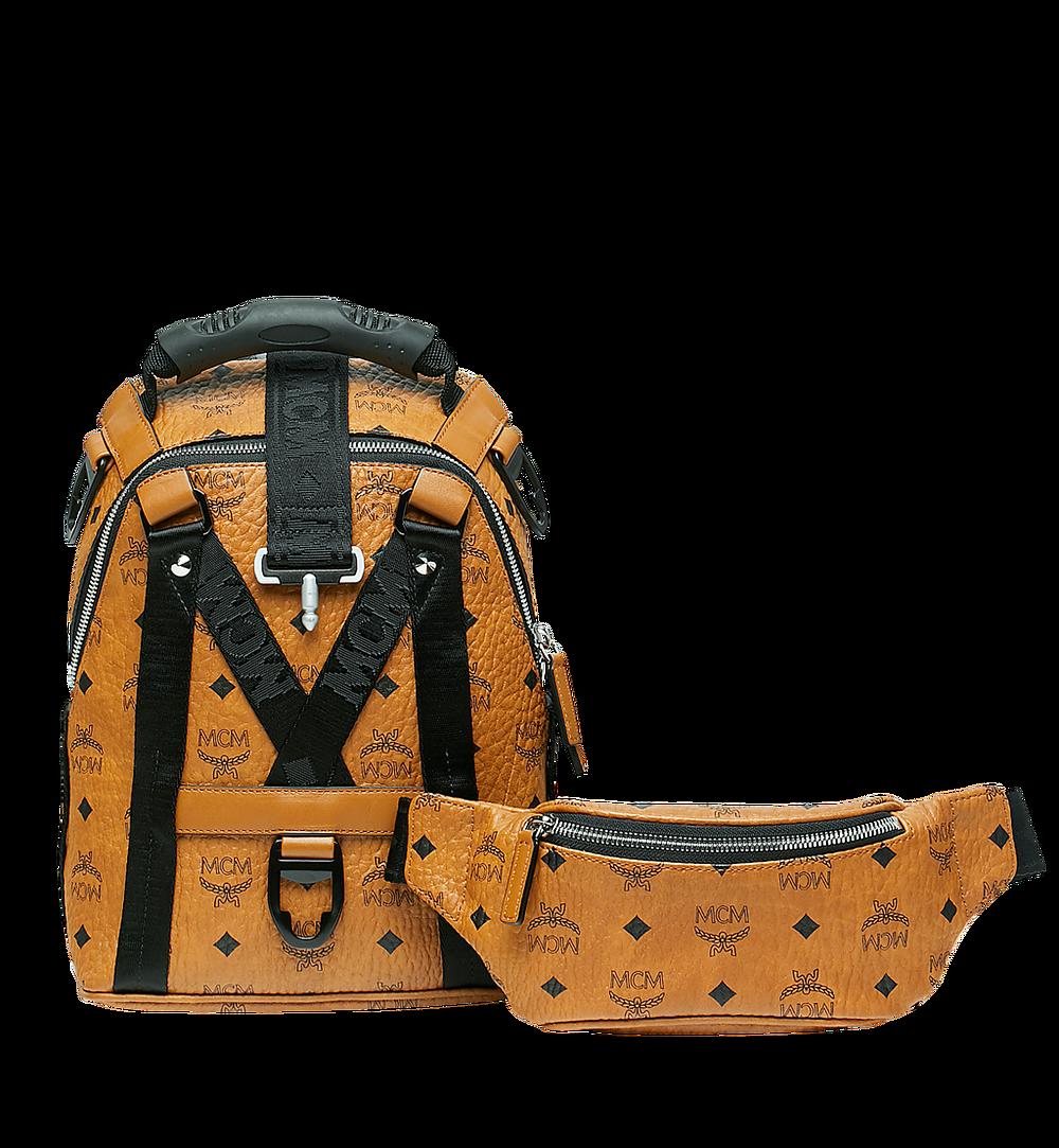 MCM Jemison 2-in-1 Backpack in Visetos Cognac MUK9SJV19CO001 Alternate View 5