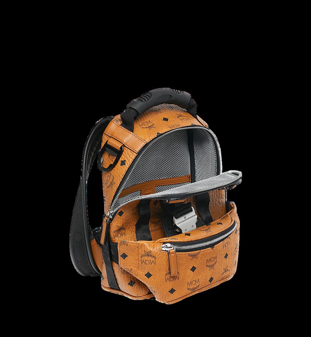 MCM Jemison 2-in-1 Backpack in Visetos Cognac MUK9SJV19CO001 Alternate View 7