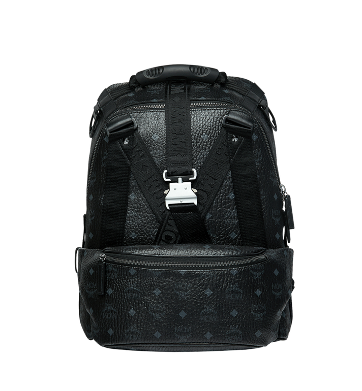 MCM Jemison Backpack and Belt Bag in Visetos MUK9SJV20BK001 AlternateView