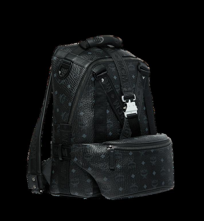 MCM Jemison Backpack and Belt Bag in Visetos MUK9SJV20BK001 AlternateView2