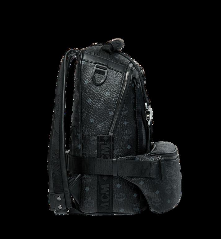 MCM Jemison Backpack and Belt Bag in Visetos MUK9SJV20BK001 AlternateView3