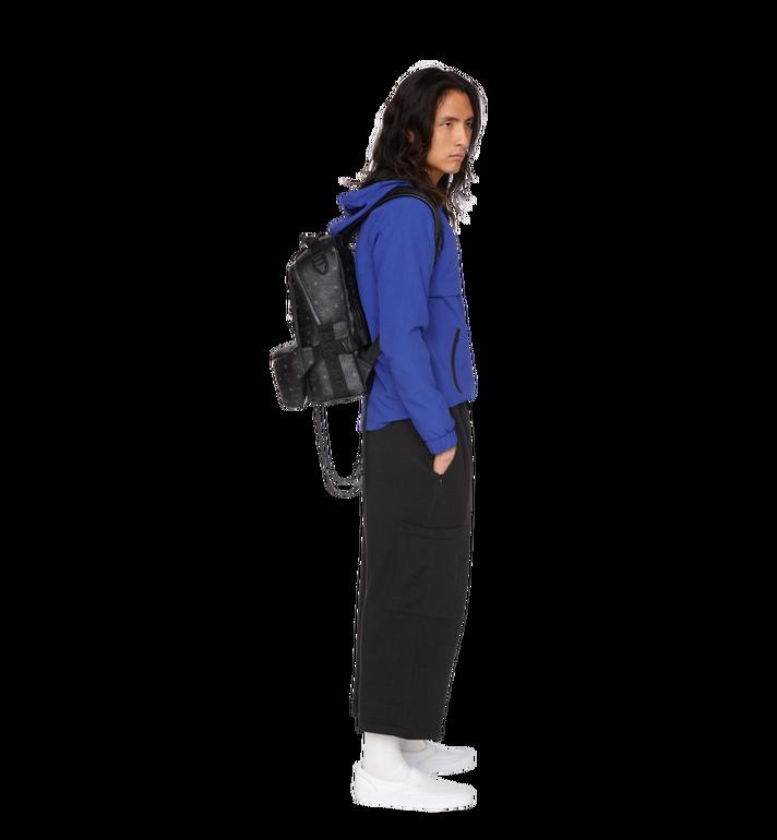 MCM Jemison Backpack and Belt Bag in Visetos MUK9SJV20BK001 AlternateView8