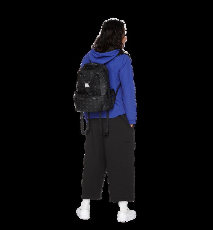 MCM Jemison Backpack and Belt Bag in Visetos MUK9SJV20BK001 AlternateView9