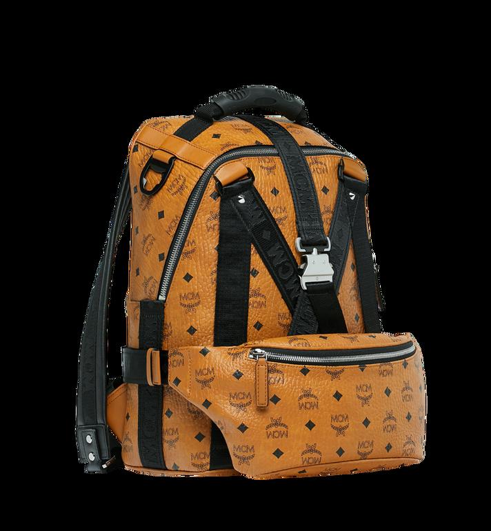 MCM Sac à dos et sac porté à la taille Jemison en Visetos Cognac MUK9SJV20CO001 Alternate View 2