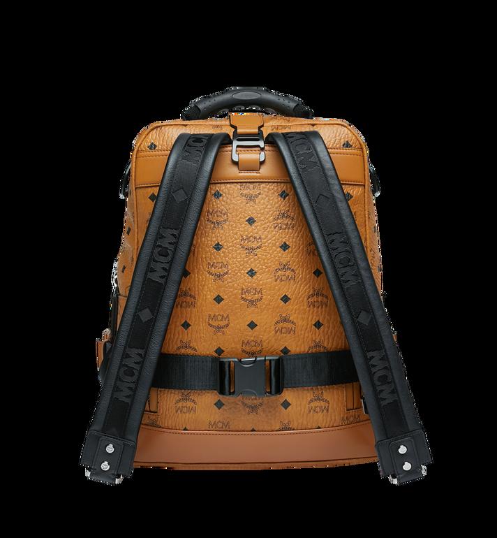 MCM Sac à dos et sac porté à la taille Jemison en Visetos Cognac MUK9SJV20CO001 Alternate View 4