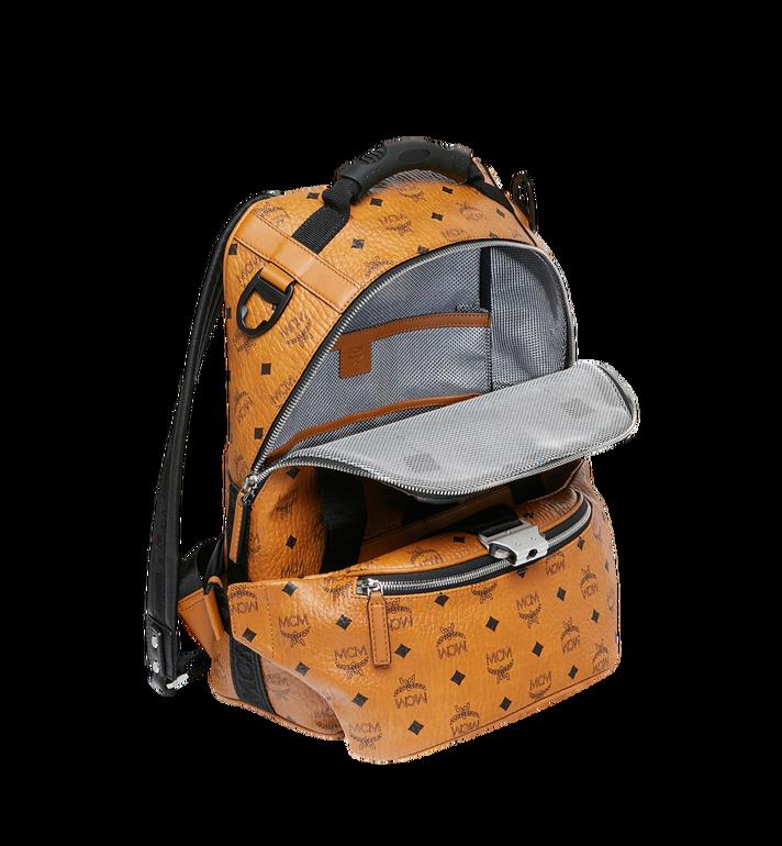 MCM Sac à dos et sac porté à la taille Jemison en Visetos Cognac MUK9SJV20CO001 Alternate View 7