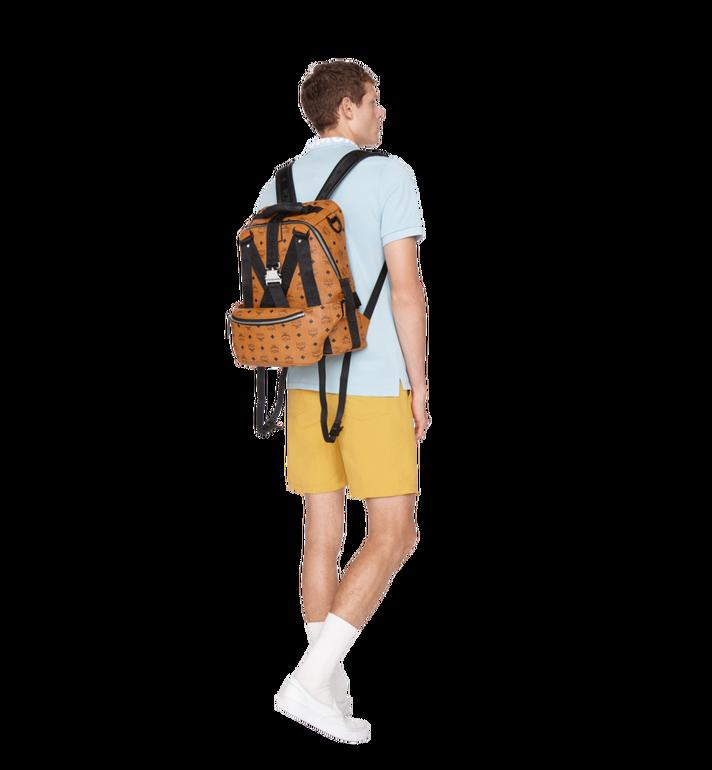 MCM Sac à dos et sac porté à la taille Jemison en Visetos Cognac MUK9SJV20CO001 Alternate View 10