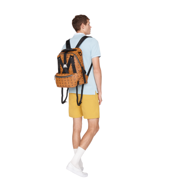 MCM Jemison Backpack and Belt Bag in Visetos MUK9SJV20CO001 AlternateView10