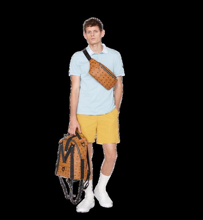 MCM Sac à dos et sac porté à la taille Jemison en Visetos Cognac MUK9SJV20CO001 Alternate View 12