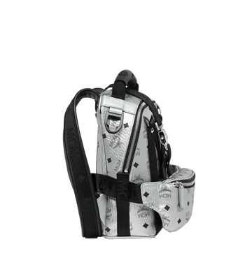 MCM Jemison 2-in-1 Backpack in Visetos Alternate View 3