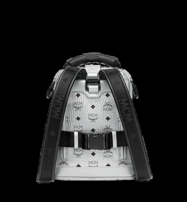MCM Jemison 2-in-1 Backpack in Visetos Silver MUK9SJV23SB001 Alternate View 4