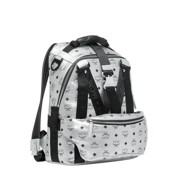 MCM Jemison 2-in-1 Backpack in Visetos Alternate View 2