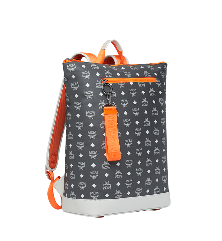 MCM Resnick Backpack in Logo Nylon Alternate View 2