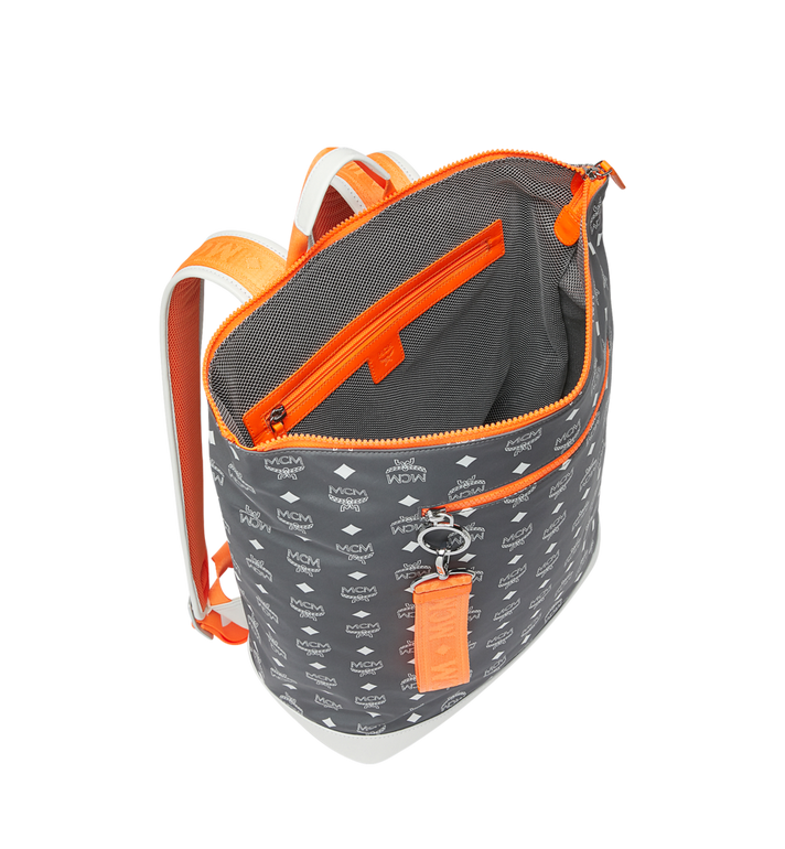 MCM Resnick Backpack in Logo Nylon Alternate View 5