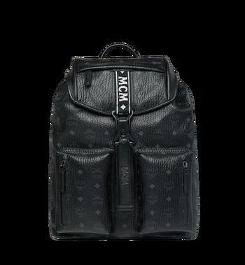 MCM Raymonde Two Pocket Backpack in Visetos Alternate View