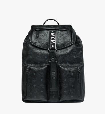 Raymonde Two Pocket Backpack in Visetos
