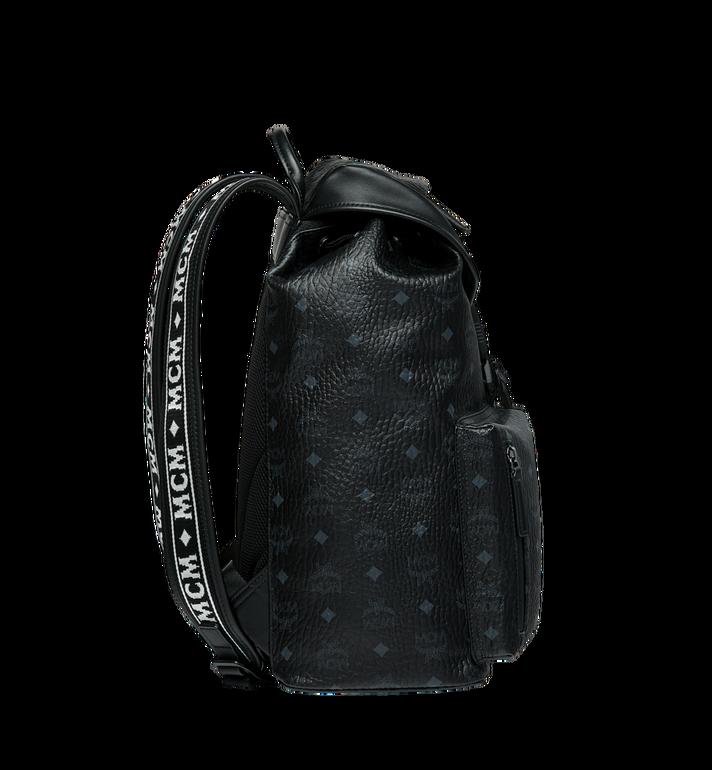 MCM Raymonde Two Pocket Backpack in Visetos MUK9SRY01BK001 AlternateView3