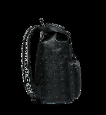 MCM Raymonde Two Pocket Backpack in Visetos Alternate View 3