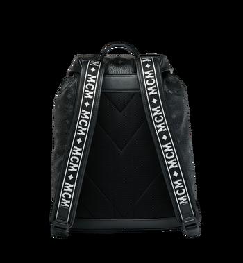 MCM Raymonde Two Pocket Backpack in Visetos Alternate View 4