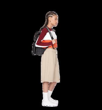 MCM Raymonde Two Pocket Backpack in Visetos Alternate View 6