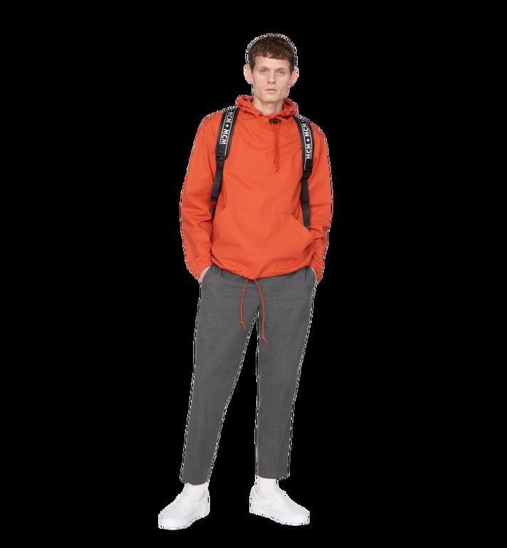 MCM Raymonde Two Pocket Backpack in Visetos MUK9SRY01BK001 AlternateView8
