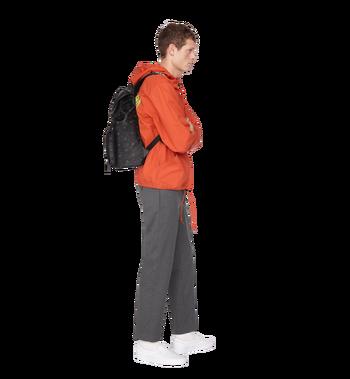 MCM Raymonde Two Pocket Backpack in Visetos MUK9SRY01BK001 AlternateView9