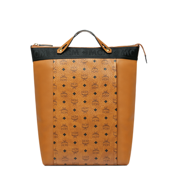 MCM Essential Tote Pack in Visetos and Leather MUK9SSE06CO001 AlternateView