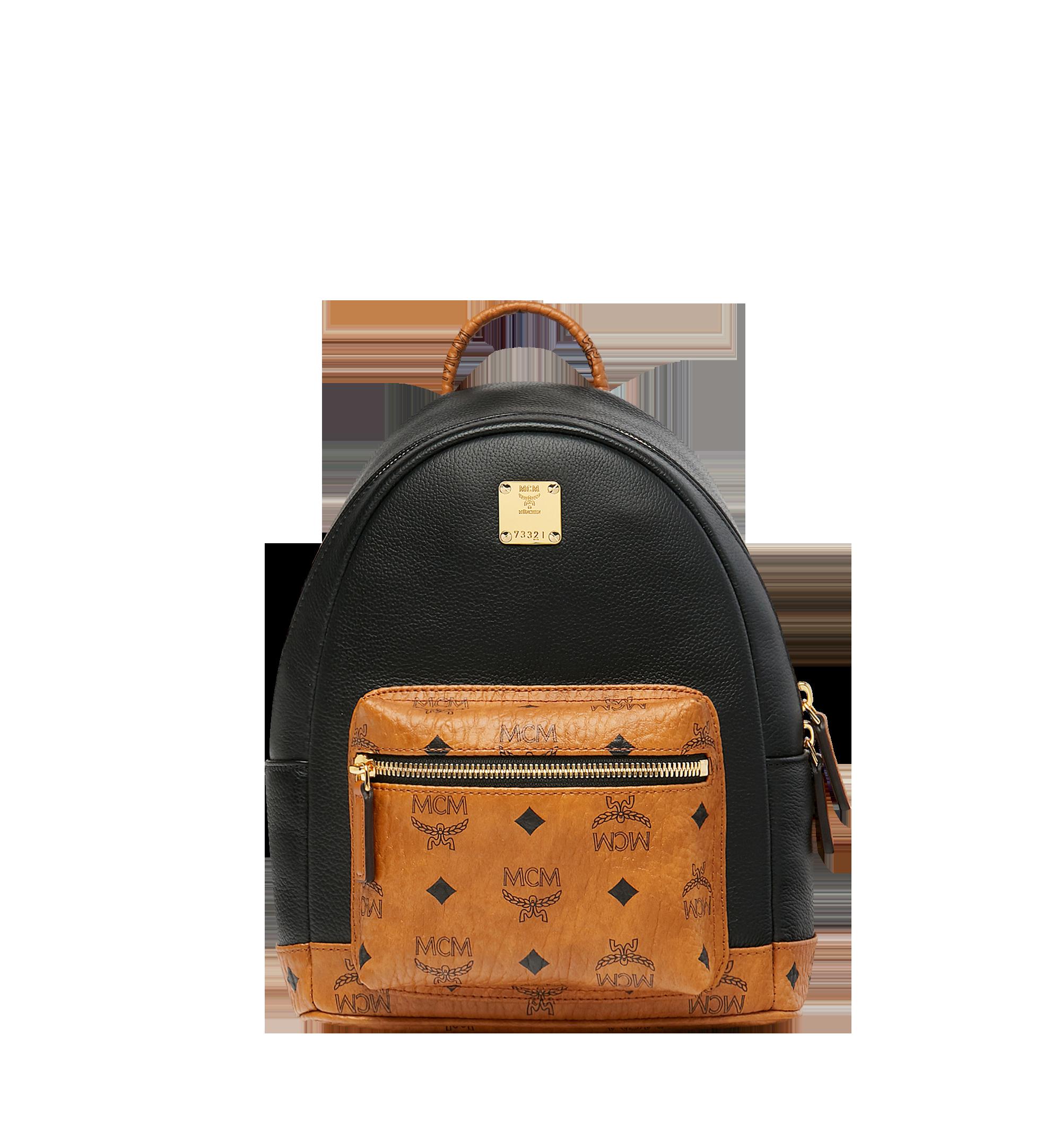 a0cdb589bdf2 27 cm / 10.5 in Geonautic Backpack in Visetos Black   MCM