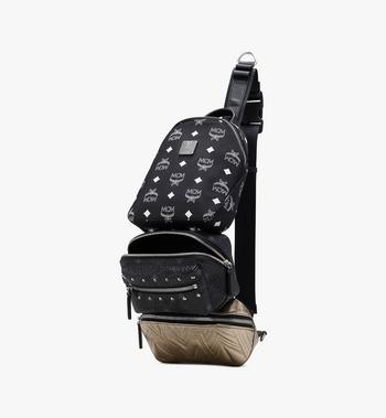 MCM Trey 4-in-1 Sling in Visetos Alternate View 4