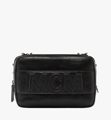 Cubism Messenger in Foiled Leather