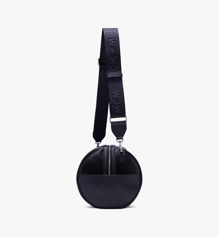 MCM Tivitat Crossbody Bag in Coated Canvas Black MUR9ABT12BK001 Alternate View 2
