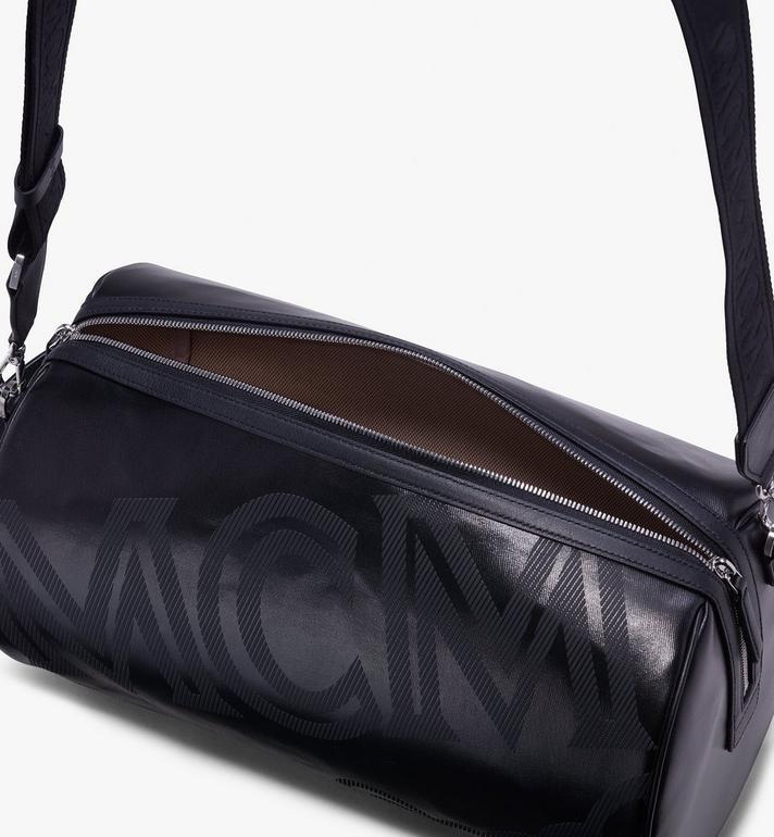 MCM Tivitat Crossbody Bag in Coated Canvas Black MUR9ABT12BK001 Alternate View 4