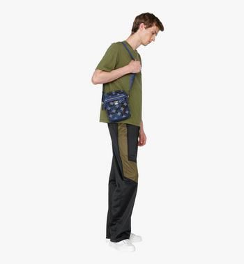 MCM Dieter Crossbody in Munich Lion Camo Alternate View 5