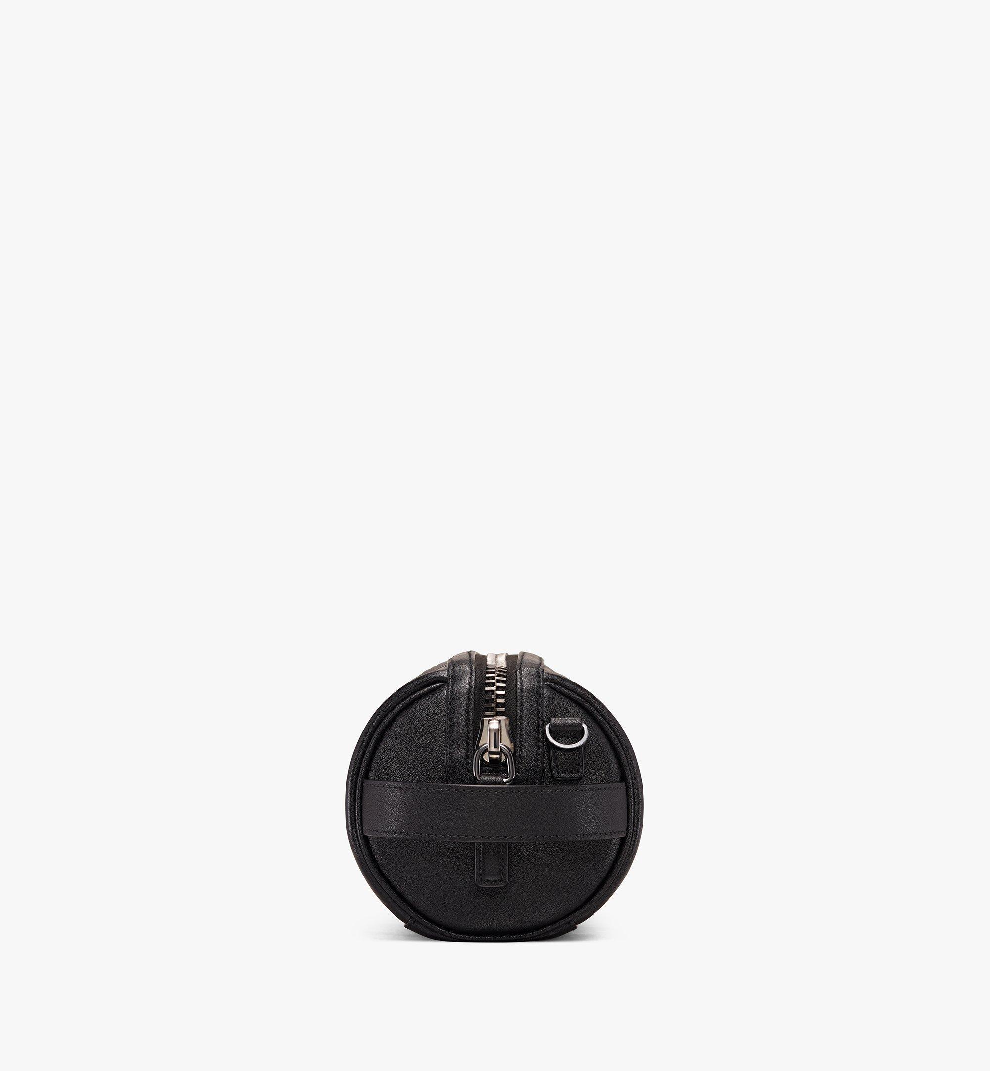 MCM Crossbody Bag in Embossed Lion Camo Black MUR9AES02BK001 Alternate View 2