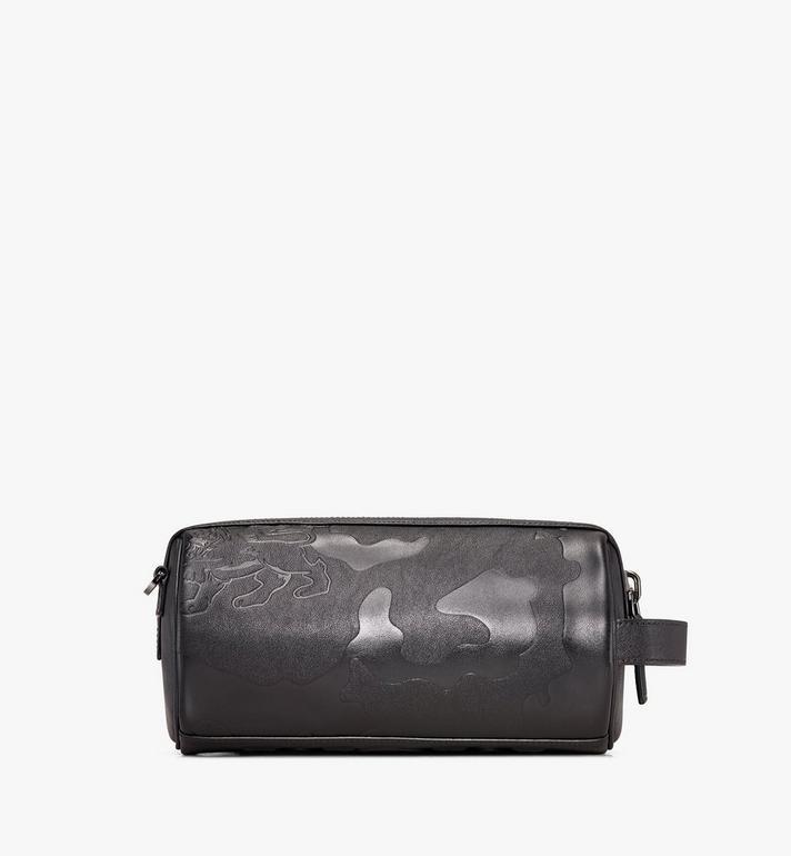 MCM Crossbody Bag in Embossed Lion Camo Alternate View 3