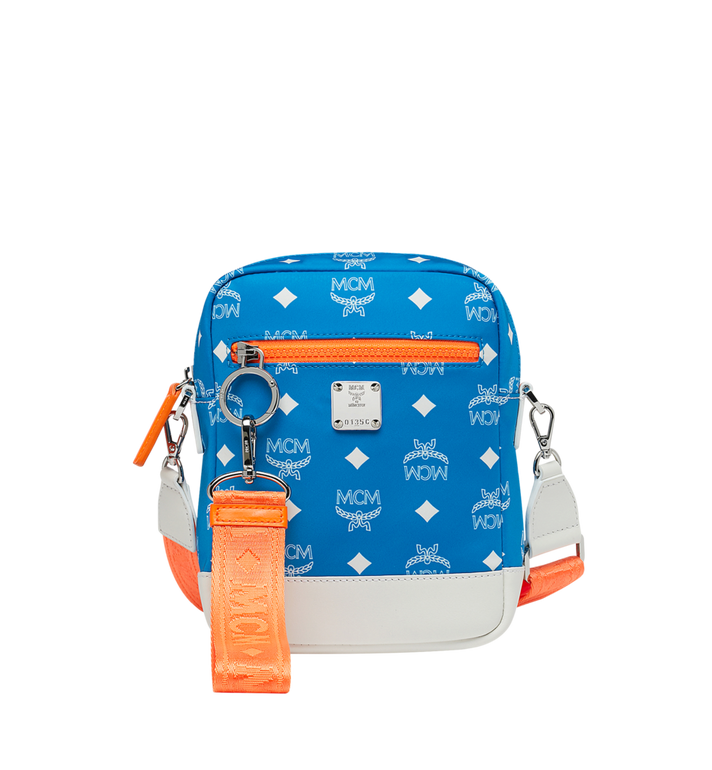 MCM Resnick Crossbody Tasche aus Nylon mit Logo Alternate View