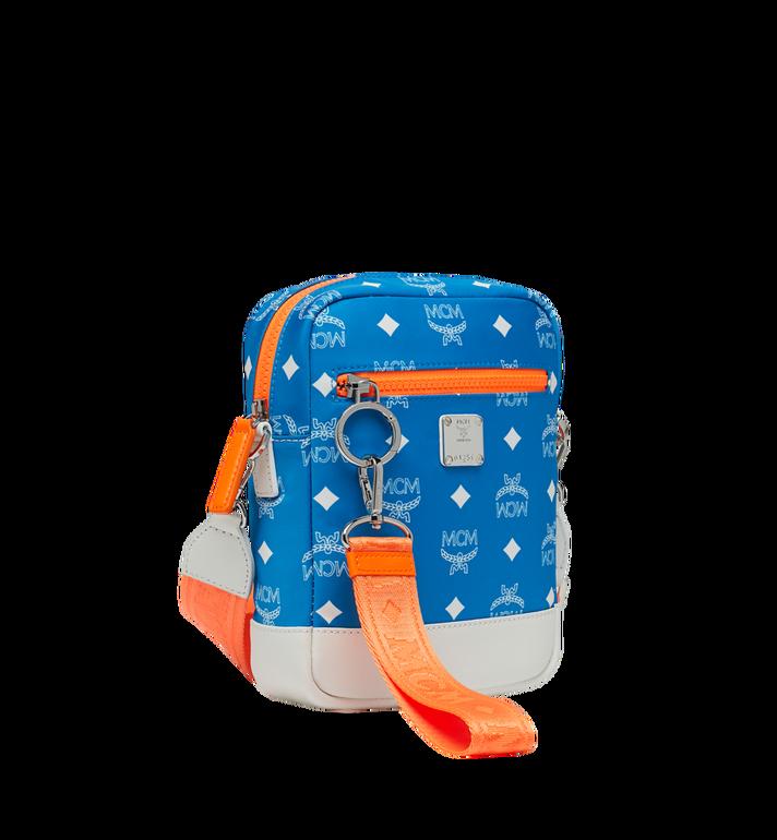 MCM Resnick Crossbody Tasche aus Nylon mit Logo Alternate View 2