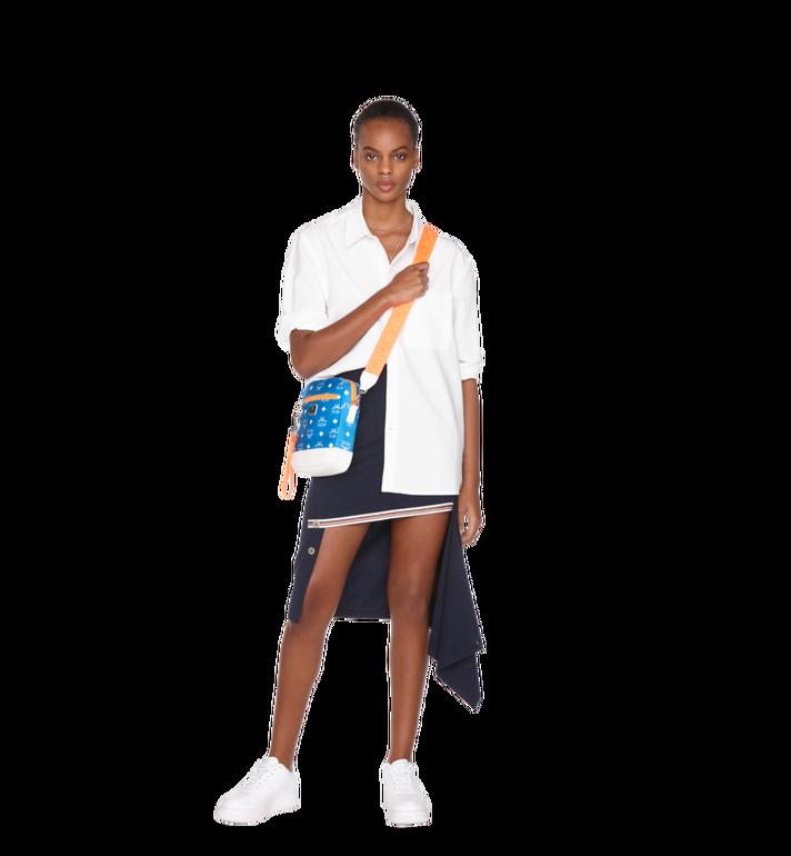MCM Resnick Crossbody Tasche aus Nylon mit Logo Alternate View 6