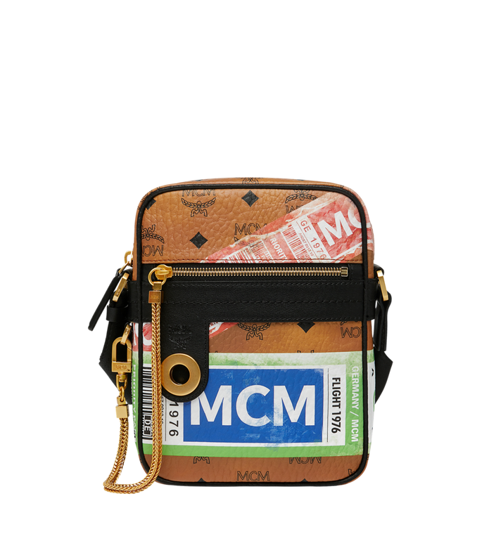 MCM Crossbody-Tasche für die Reise in Flight Print Visetos Alternate View